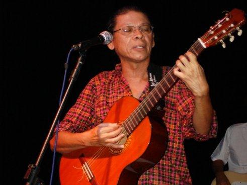 O jornalista e compositor Cesar Teixeira. Foto: Aniceto Neto