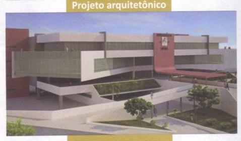 """O projeto arquitetônico da Biblioteca Central, prometido num """"Guia do Servidor"""" de 2010..."""