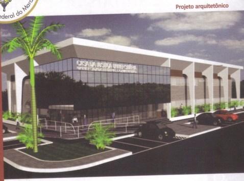 Projeto arquitetônico da Casa da Justiça. Guia do Servidor, 2010