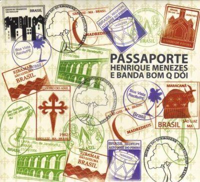 Passaporte. Capa. Reprodução