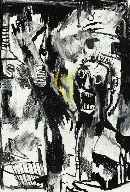 Uma das ilustrações de Fúria. Diego Dourado. Reprodução