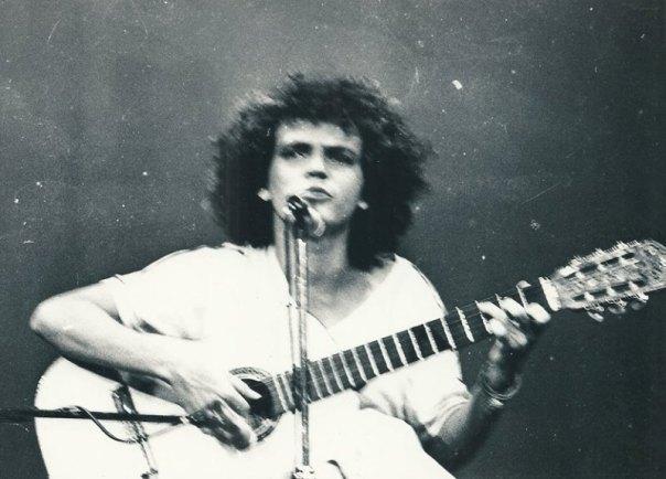 O compositor Josias Sobrinho na época do Rabo de Vaca. Acervo pessoal
