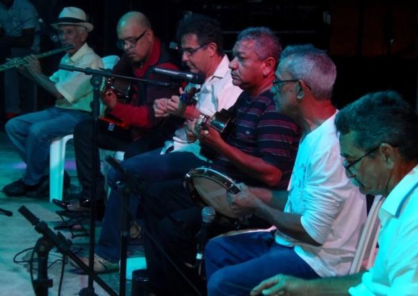 O Regional Tira-Teima durante apresentação na Semana Nacional de Ciência e Tecnologia do Maranhão. Foto: Rivanio Almeida Santos