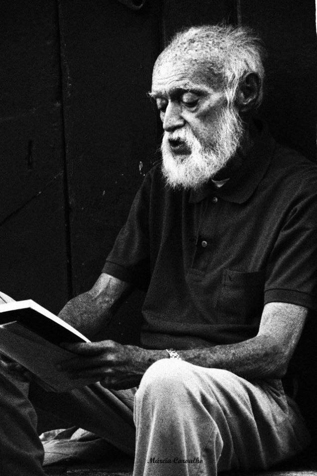 O poeta Nauro Machado (2/8/1935-28/11/2015. Foto Marcia Carvalho