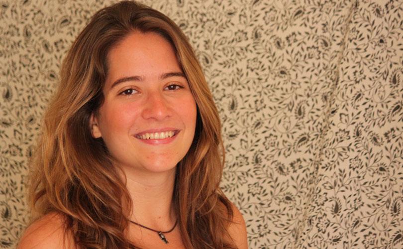 Alice Passos: vasto currículo, apesar da pouca idade. Foto: divulgação