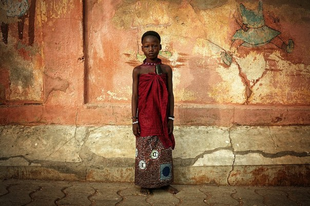Agaxosa - Gloku Kosu Naeton (Ouidah - Benin), a fotografia usada na capa do livro. Foto: Márcio Vasconcelos