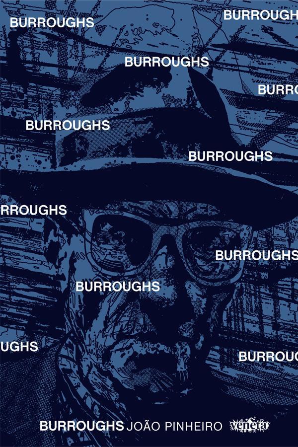 Burroughs. Capa. Reprodução