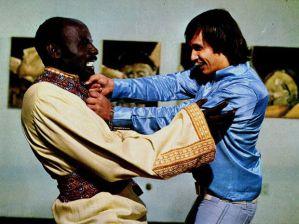 Cena de Roberto Carlos em ritmo de aventura. Frame. Reprodução