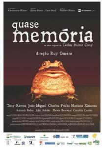 Cartaz de Quase memória. Reprodução