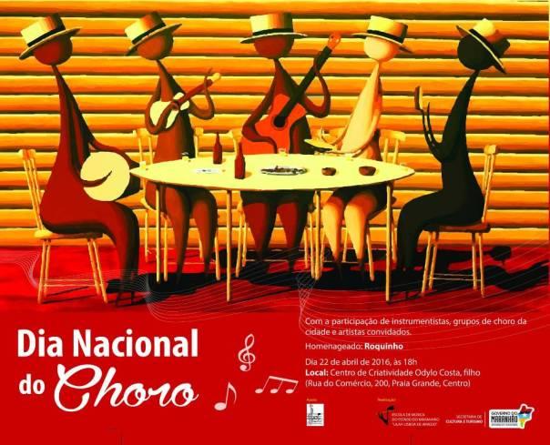 Celebração do Dia Nacional do Choro acontece na véspera, no Centro de Criatividade Odylo Costa, filho (Praia Grande). Divulgação