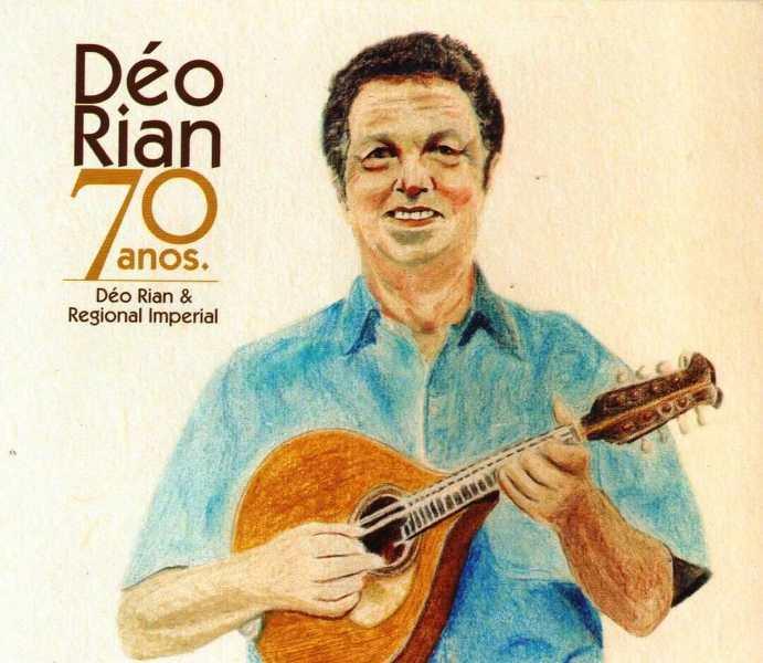 Déo Rian 70 anos. Capa. Reprodução