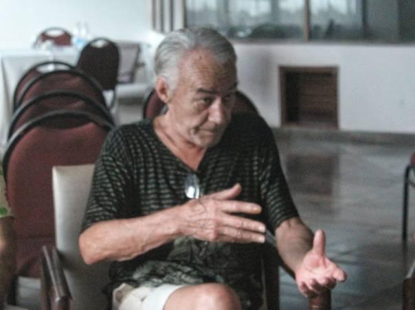 O ator Sapiran Brito. Foto: Juliana Costa