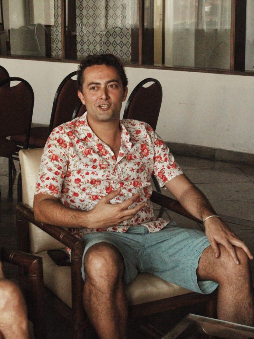 O diretor Zeca Brito. Foto: Juliana Costa