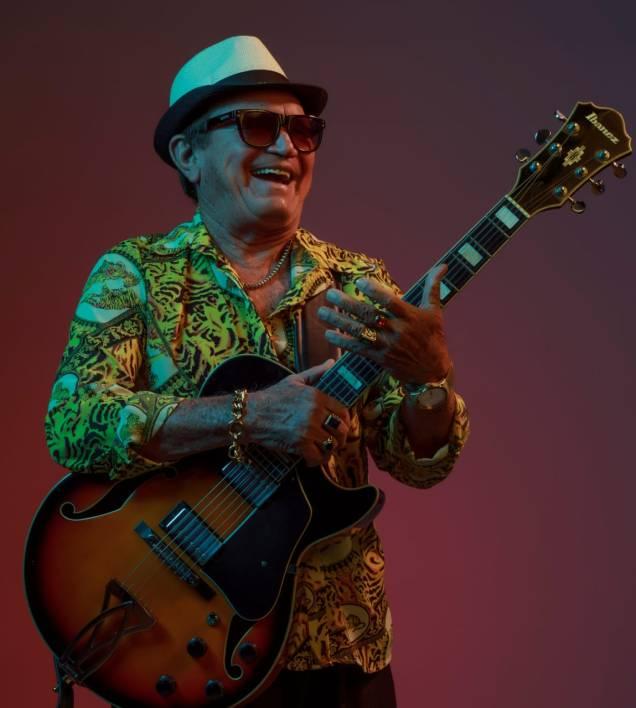 Mestre Solano, o rei da guitarrada, com mais de 60 anos de carreira. Foto: divulgação