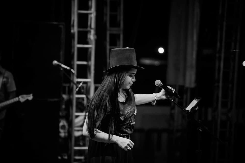 A cantora Amanda Soulthier. Foto: divulgação