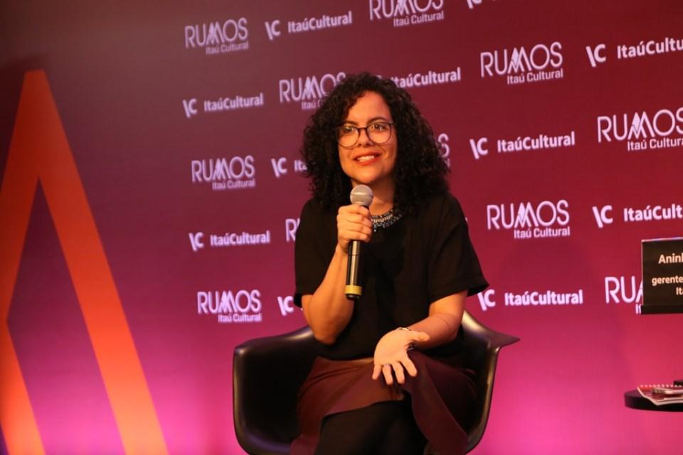 Ana de Fátima Sousa, gerente do núcleo de Comunicação do Itaú Cultural. Foto: Denise Andrade