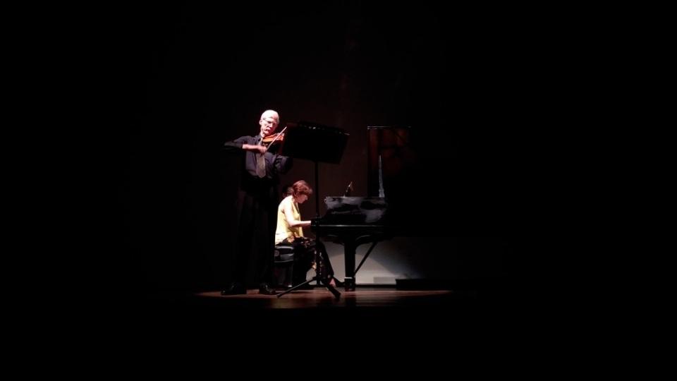 O Duo Cappareli-Gerling. Foto: Zema Ribeiro