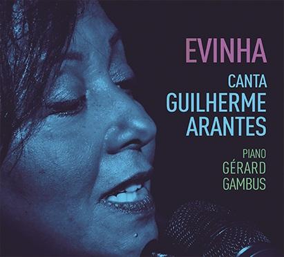 Evinha canta Guilherme Arantes. Capa. Reprodução