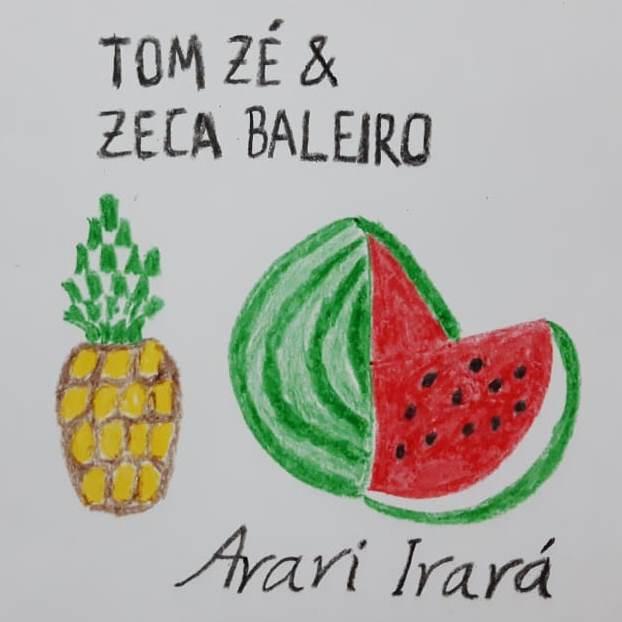 Capa imaginária de disco imaginário. Desenho de Zema Ribeiro