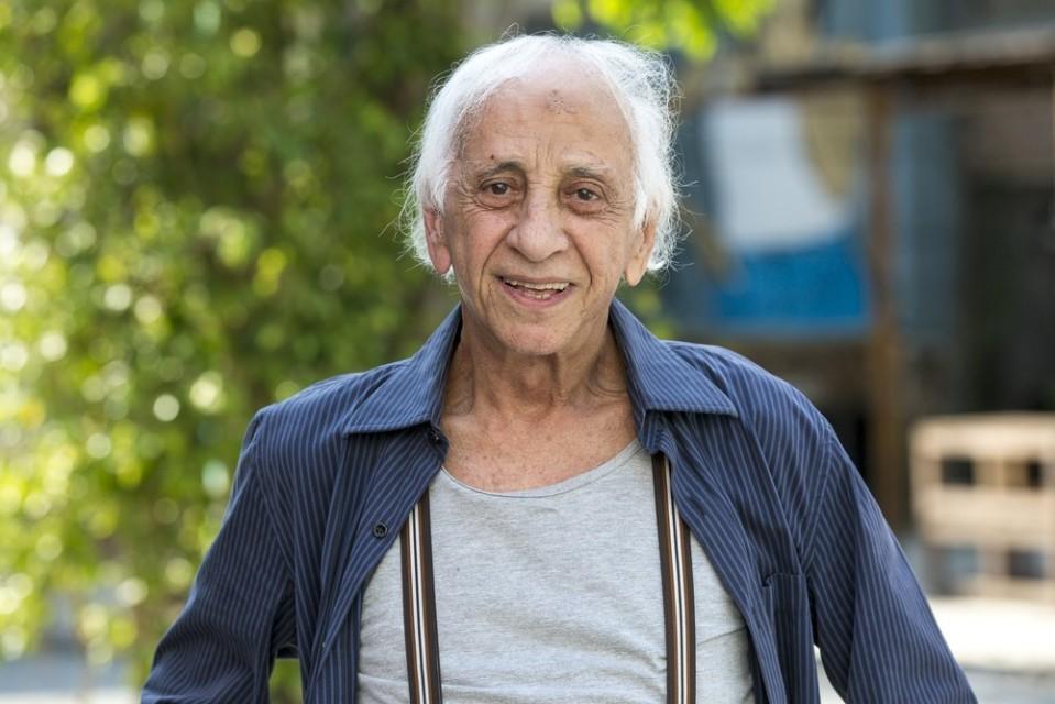 O ator Flávio Migliaccio. Foto: Isabella Pinheiro/ GShow/ Reprodução