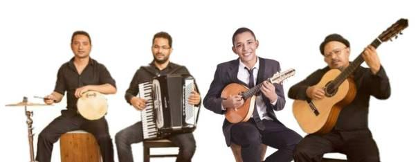 O Quarteto Crivador. Foto: divulgação
